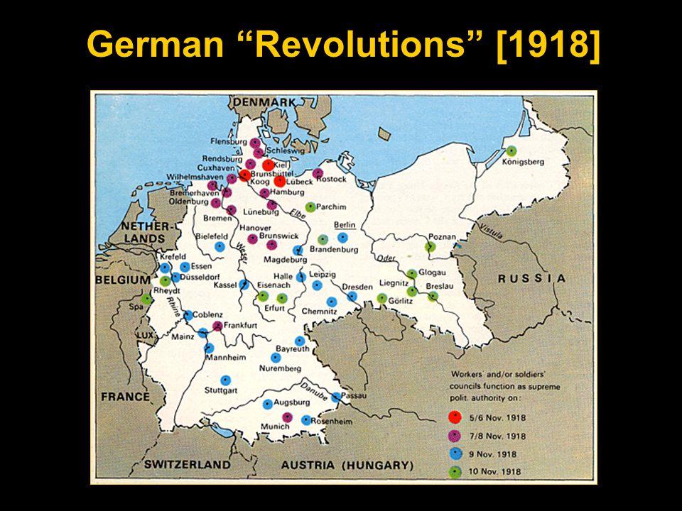 German Revolutions [1918]